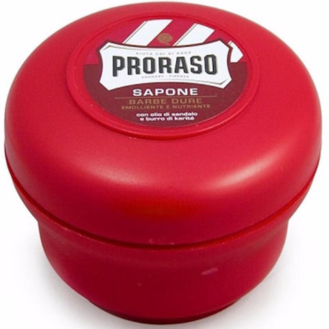 Proraso Red - Shaving Soap with Sandalwood & Shea Butter