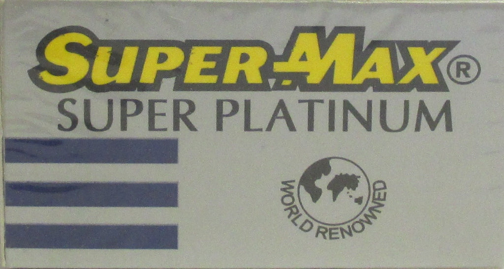 SUPERMAX SUPER PLATINUM Double Edge Razor Blades