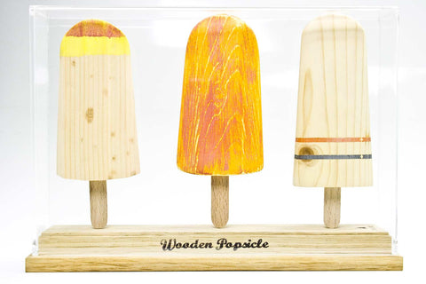 Johnny Hermann | Wooden Popsicle - teca 3 pezzi | A03