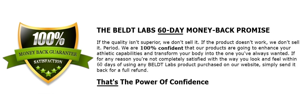 BELDT Labs Guarantee