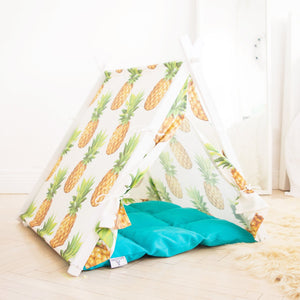 Pineapple dog teepee