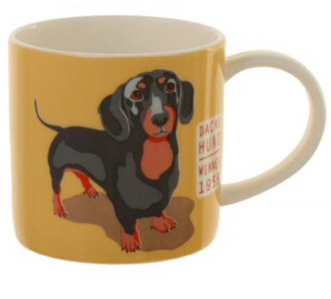 "Dachshund ""RALF"" Bone China Mug"