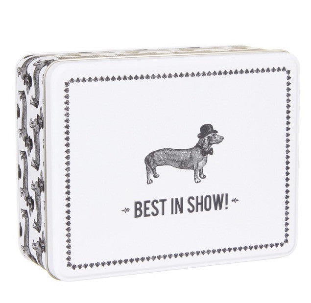 """Best In Show"" Sausage Dog Tin"