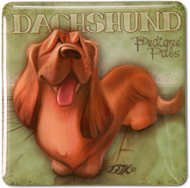 My Pedigree Pals Dachshund Dog Fridge Magnet