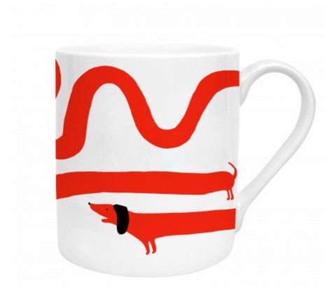 Sausage Dog Bone China Mug
