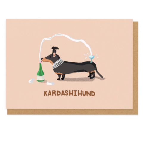 Kardashihund Greeting Card