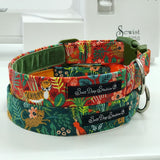 Just So ..... Jungle Dog Collar