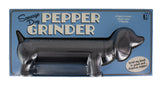 Sausage Dog Pepper Grinder
