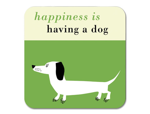 Happiness Fridge Magnet Sausage Dog