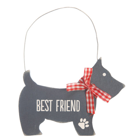 Scottie Best Friend Hanging Decoration
