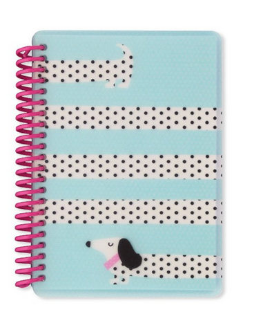 Sausage Dog A6 Polyprop Notebook