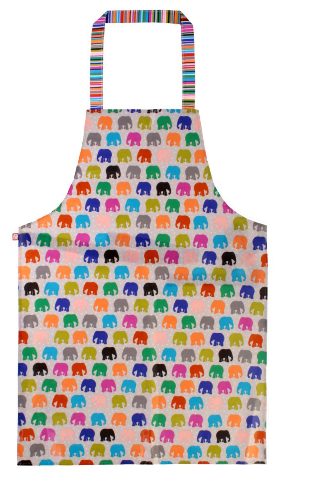Elephant Parade Spotty Elephant Herd Teen PVC Apron