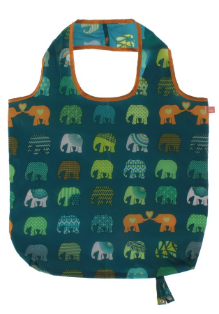 Elephant Parade Elephant Herd Roll-up Bag