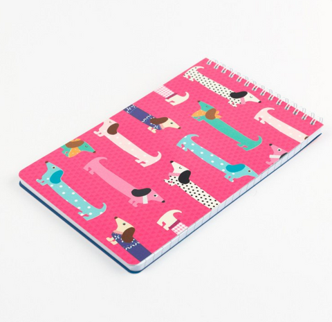 Sausage Dog Reporter Notebook