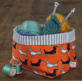 Darling Dachshund Storage Pot