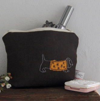 Dachshund - Little Make Up Bag
