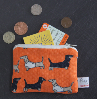 Darling Dachshund Small Coin Useful Purse