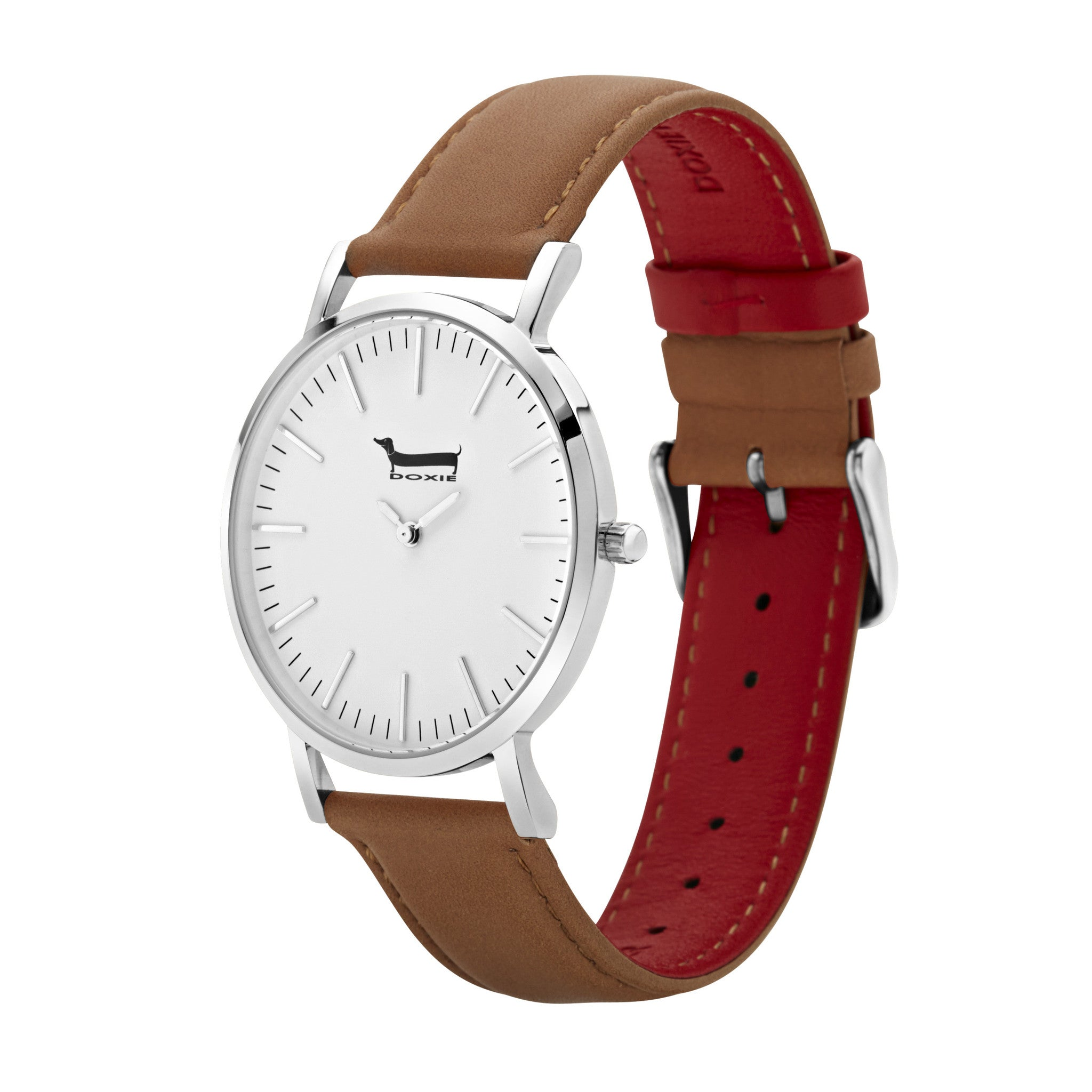 overstock watches strap dial jewelry women of signature today pearl leather product mother patent lr mopg s stein red shipping philip watch free quartz womens