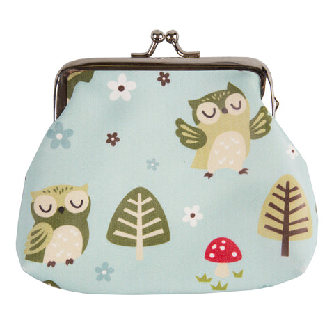 Spring Forest Owl Purse