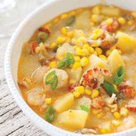 Cajun Crawfish Boil Soup