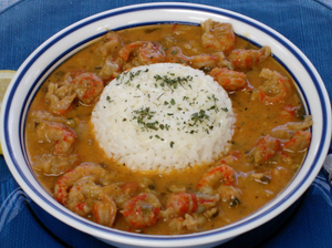 Seafood Gumbo, Crawfish Étouffée and Chicken & Sausage Gumbo Trio