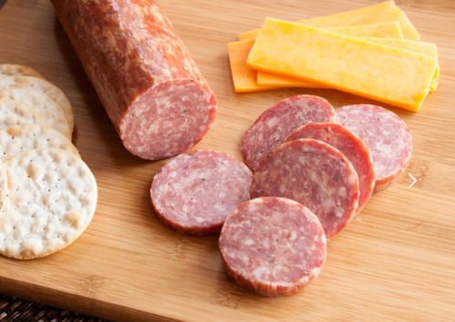 Summer Sausage with Venison & Pork