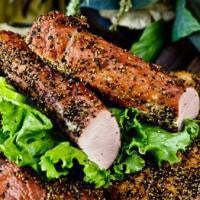 Load image into Gallery viewer, Peppered Pork Tenderloin