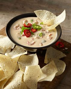 Crawfish Queso