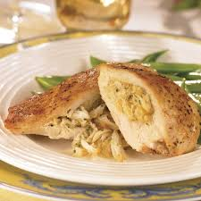 Chicken Breast stuffed with Shrimp Dressing