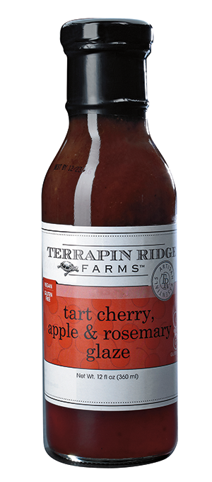 TART CHERRY, APPLE AND ROSEMARY GLAZE
