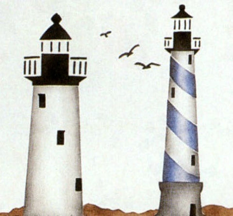 Nature,  Nautical, and Coastal inspired Stencils