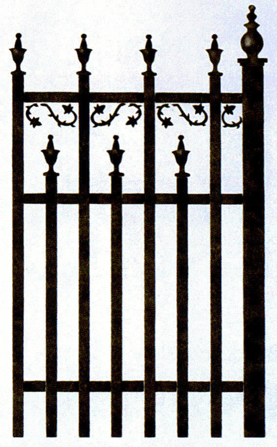 #94 Wrought Iron Fence