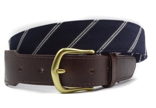 Atlantic Leather Tab Belt - FH Wadsworth