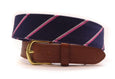 Carousel Leather Tab Belt - FH Wadsworth