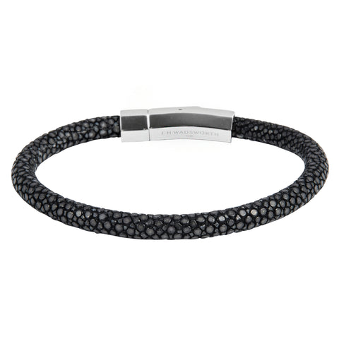 Black Stingray Bracelet - FH Wadsworth
