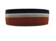 Burnt Orange & Navy Ribbon Belt