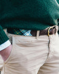 Green Tartan Belt - FH Wadsworth