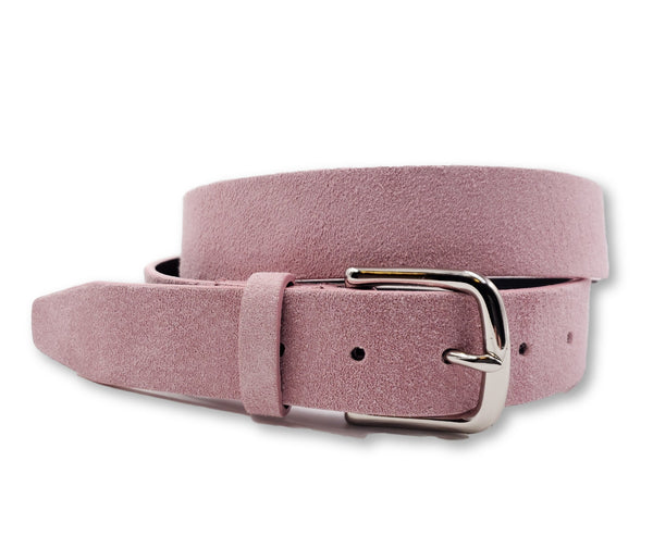 Pink Suede Belt - FH Wadsworth