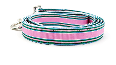 Multicolored Pink Dog Leash - FH Wadsworth