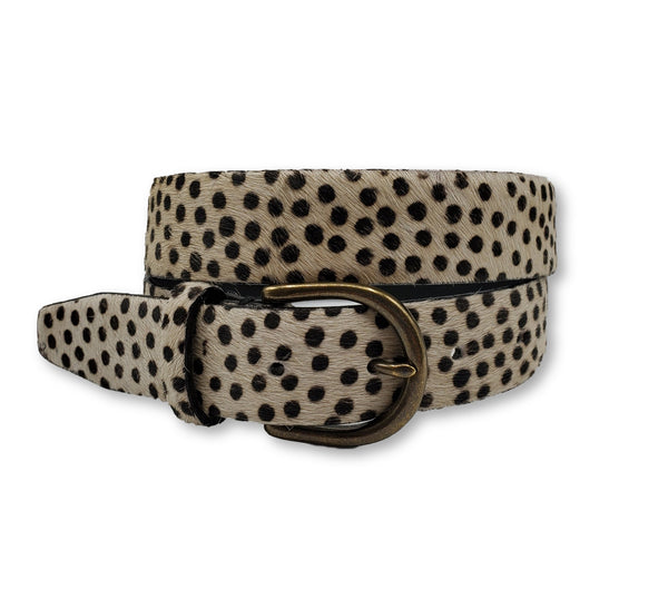 Polka Dot Pony Belt - FH Wadsworth