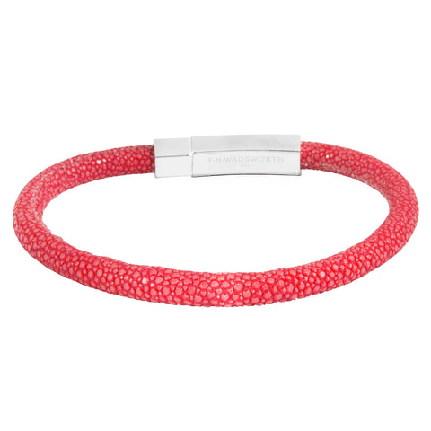 Red Stingray Bracelet - FH Wadsworth