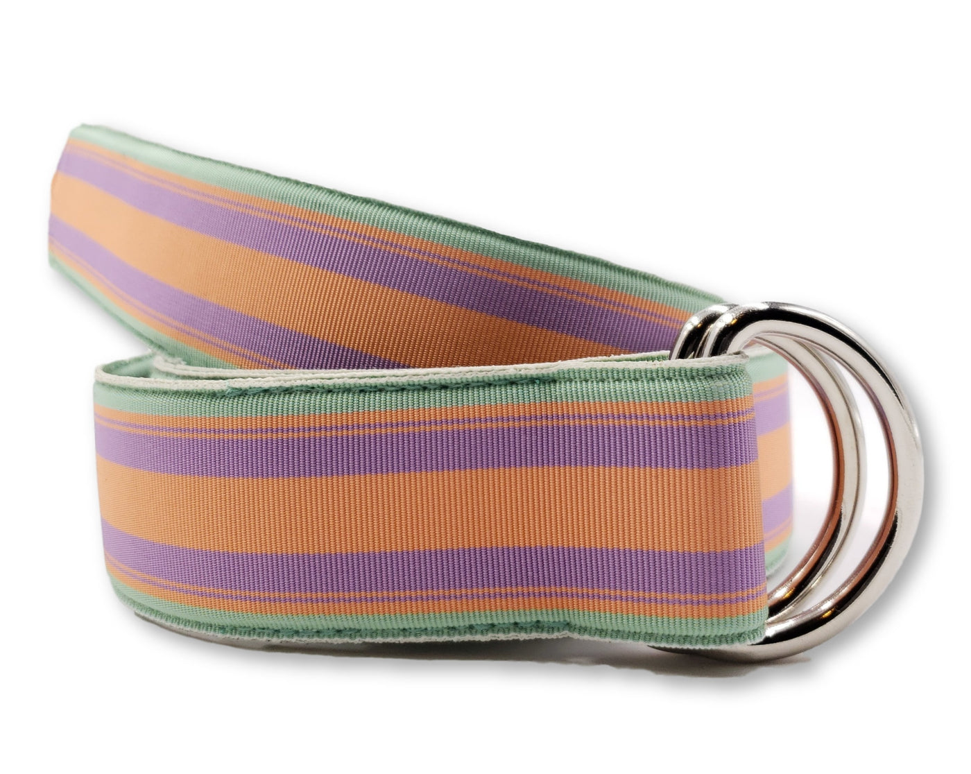 Sherbet Striped Ribbon Belt - FH Wadsworth