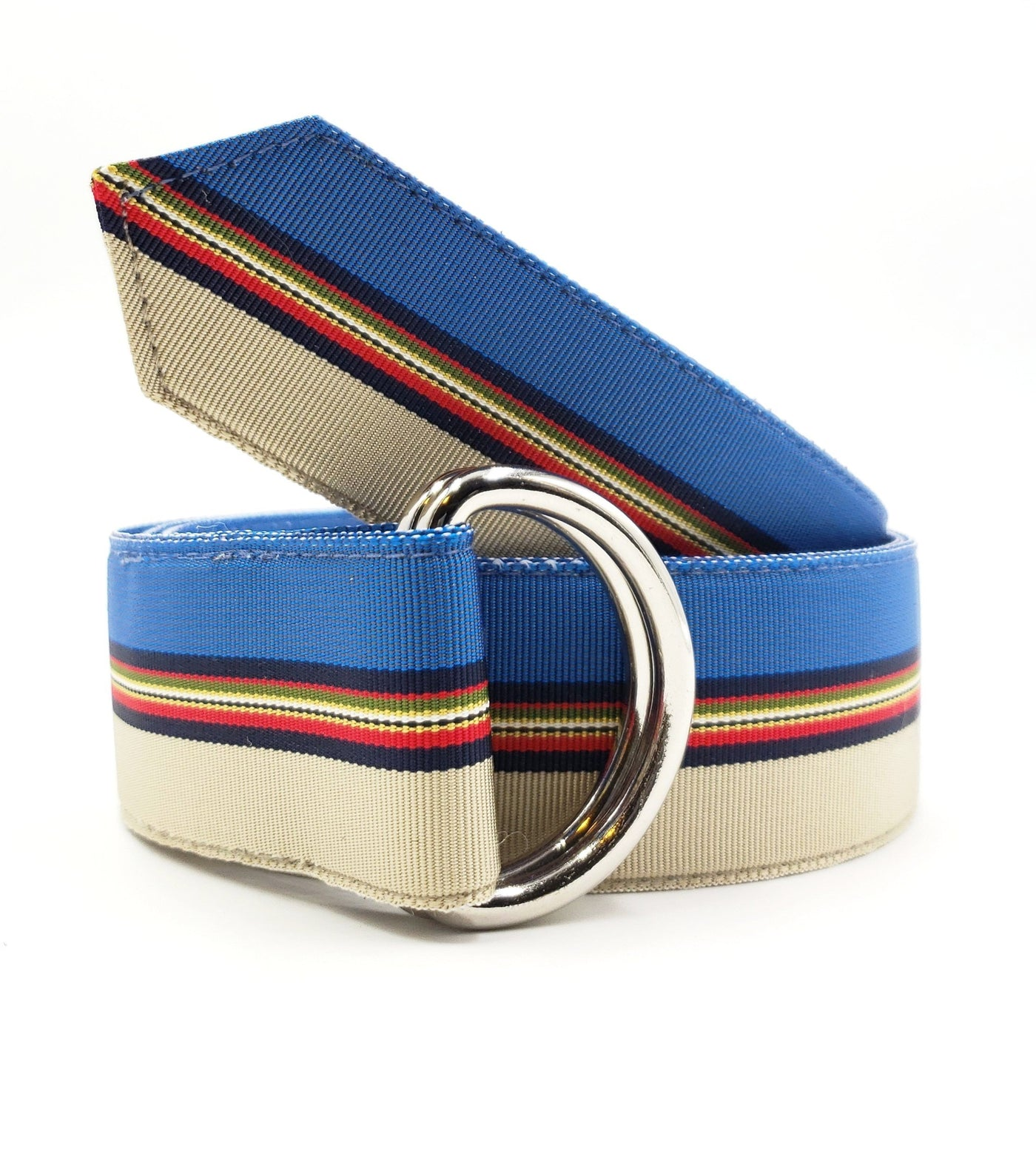 Blue Starfish Ribbon Belt - FH Wadsworth