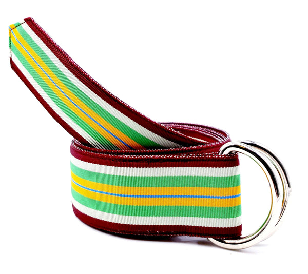 Striped Toucan Ribbon Belt - FH Wadsworth