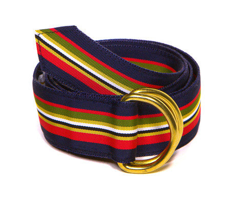 Kingfisher Belt (Monogrammed) - FH Wadsworth