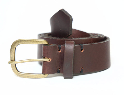 Brown Leather Belt - FH Wadsworth