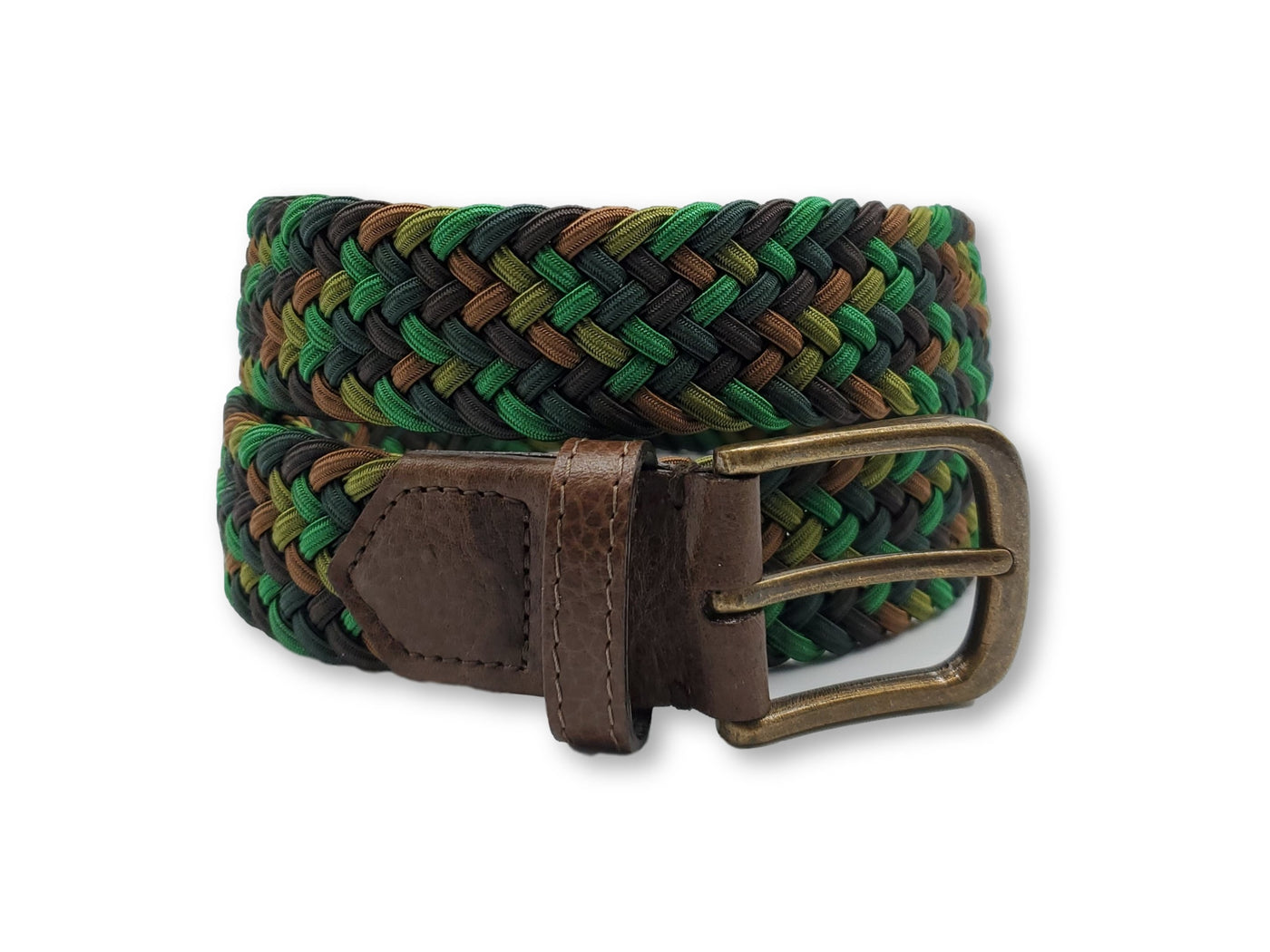 Camouflage Interwoven Elastic Stretch Belt - FH Wadsworth