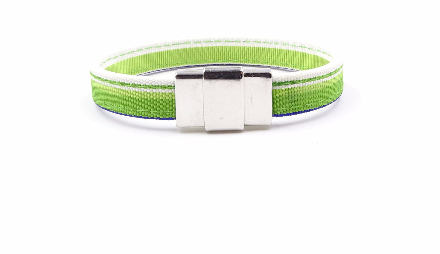 Light Green Ribbon Bracelet - FH Wadsworth