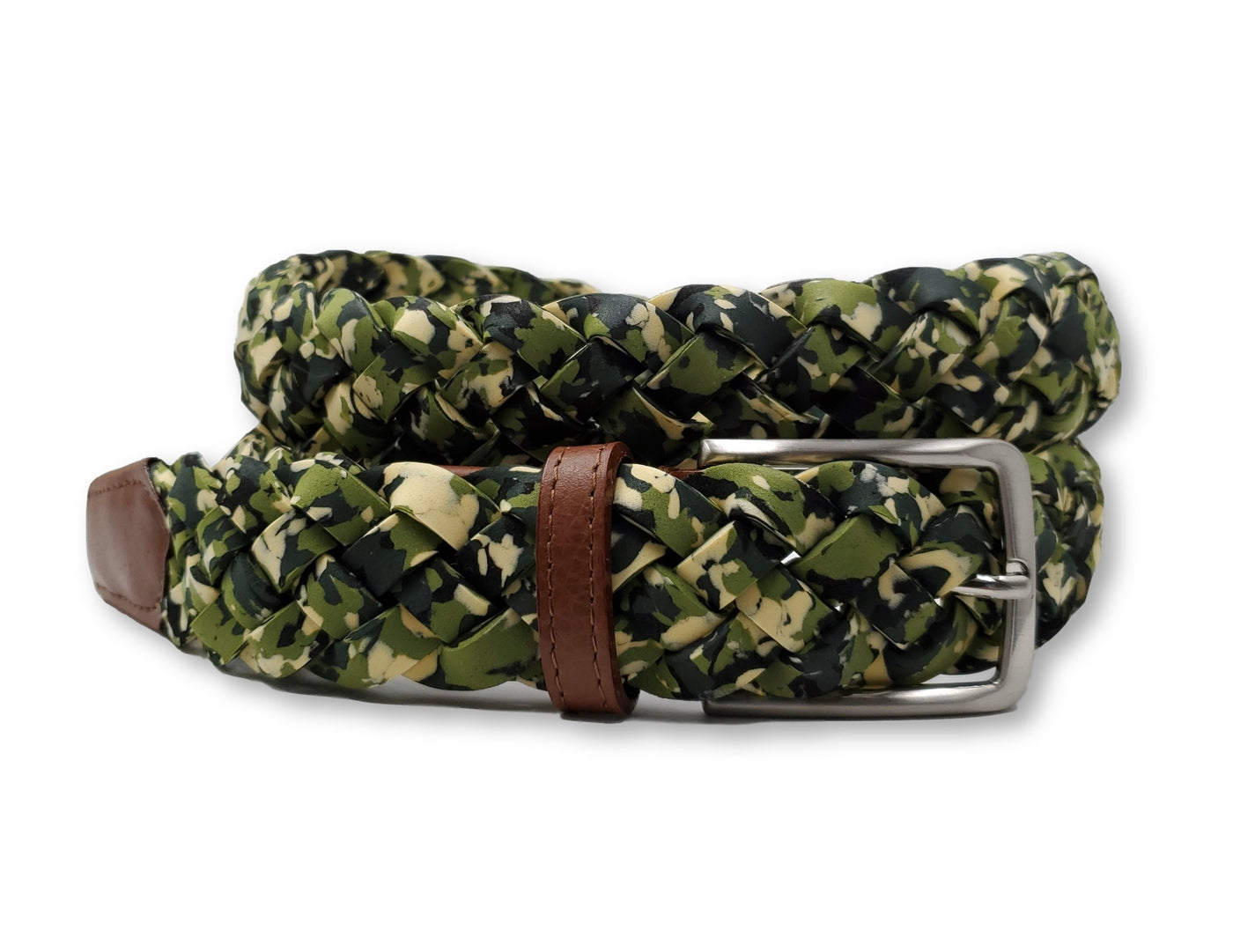 Neoprene Green Camouflage Belt - FH Wadsworth