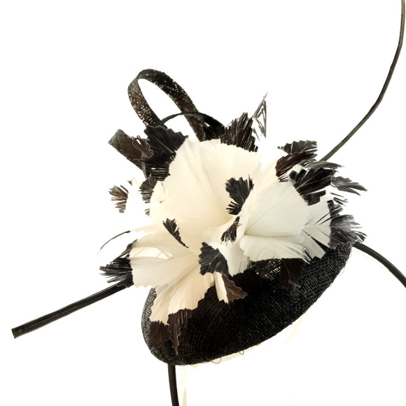 Peach Accessories 1170 fascinator alice band
